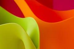 Dimensiones de una variable coloridas Fotos de archivo