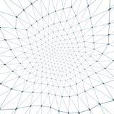Dimensiones de una variable conectadas Imagenes de archivo