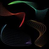 Dimensiones de una variable de la energía Imagenes de archivo