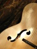 Dimensiones de una variable de la guitarra Fotos de archivo