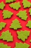 Dimensiones de una variable del árbol de navidad Fotos de archivo