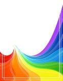 Dimensiones de una variable del arco iris Foto de archivo libre de regalías