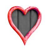 Dimensiones de una variable del corazón Imagen de archivo