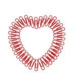 Dimensiones de una variable del corazón Fotografía de archivo