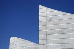 Dimensiones de una variable del edificio Imágenes de archivo libres de regalías