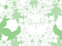 Dimensiones de una variable del verde - ilustración Fotos de archivo libres de regalías