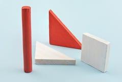 Dimensiones de una variable geométricas. fotografía de archivo libre de regalías
