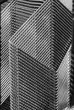 Dimensiones de una variable geométricas Imagen de archivo libre de regalías