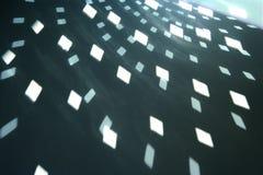 Dimensiones de una variable ligeras del glitterball Imagen de archivo libre de regalías