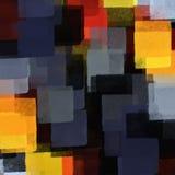 Dimensiones de una variable y colores Foto de archivo libre de regalías