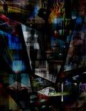 Dimensions abstraites Illustration de Vecteur