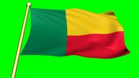 Flag of Benin, Africa