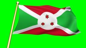Flag of Burundi, Africa