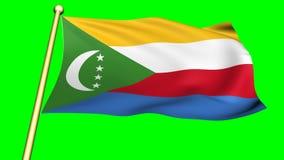 Flag of Comoros, Africa
