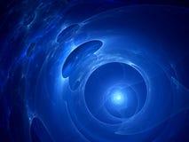 Dimensions galactiques dans l'espace Illustration de Vecteur