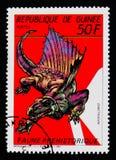 Dimetrodon, доисторическое serie животных, около 1987 Стоковые Изображения RF