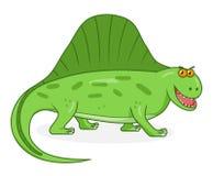 Dimetrodon динозавра шаржа Стоковая Фотография RF
