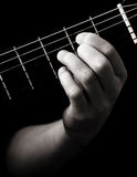 Diminished seventh chord (E-dim7) royalty free stock images