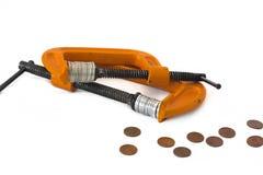 Diminshing economy Stock Images