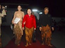 DIMINUIÇÃO DA VISITA DO TURISMO DE INDONÉSIA Imagens de Stock Royalty Free