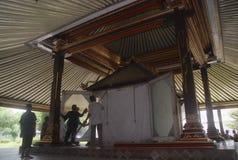 DIMINUIÇÃO DA VISITA DO TURISMO DE INDONÉSIA Imagem de Stock Royalty Free