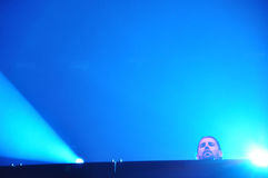 Dimitri Vegas and Like MIke live concert Royalty Free Stock Image