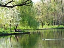 Dimitrie Brandza Botanical Garden in Bucharest. Stock Image