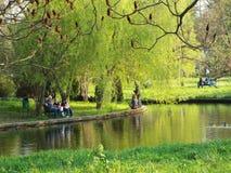 Dimitrie Brandza Botanical Garden in Bucharest. Stock Photo