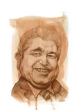 Dimitrios Chistofias Sketch Stock Image