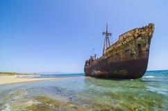 Dimitrios shipwreck Royalty Free Stock Image
