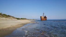 Dimitrios Shipwreck Stock Images