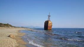 Dimitrios Shipwreck Royalty Free Stock Photo