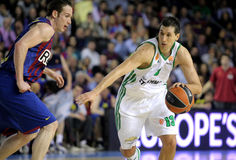 Dimitris Diamantidis of Panathinaikos Stock Photo