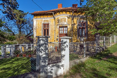 DIMITROVGRAD, SERBIA -16 2016 KWIECIEŃ: Centrum miasteczko Dimitrovgrad, Pirot region, Serbia zdjęcie royalty free