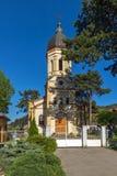 DIMITROVGRAD SERBIEN -16 APRIL 2016: Den kyrkliga jungfruliga Maryen i Dimitrovgrad, Pirot region, Serbien royaltyfri bild