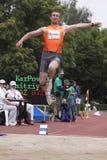 Dimitryi Karpov at IAAF decathlon meeting Stock Photos