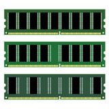 Dimm memory. Illustration for the web Royalty Free Stock Image