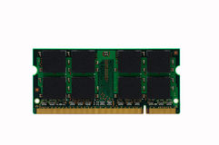 So-dimm memory module. For laptop stock photo