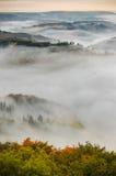 Dimma över en dal 4 Royaltyfria Foton
