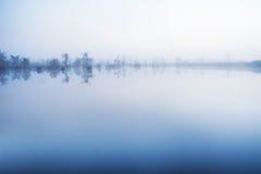 Dimma i vattnet fotografering för bildbyråer