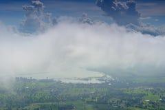 Dimma och himmel Royaltyfri Bild