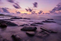 Dimma på havet Fotografering för Bildbyråer