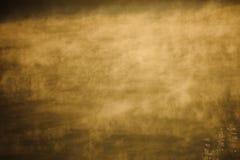 Dimma på sjön Arkivbild