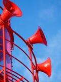 Dimmavarningshorn Fotografering för Bildbyråer