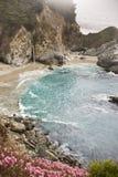 Dimmig Cove på stora Sur Arkivfoto