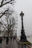 Dimmig dag i london arkivfoton