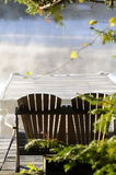 dimmig morgon för höst Royaltyfria Foton