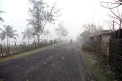 Dimmig morgon i den Bengal bygden Royaltyfria Foton