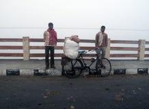Dimmig morgon i den Bengal bygden Royaltyfri Bild