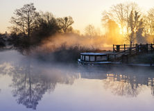 dimmiga england Fotografering för Bildbyråer